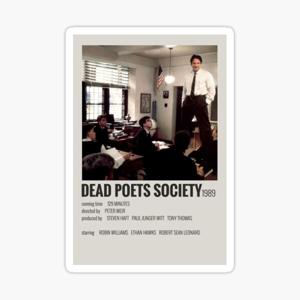 Affiche du film Dead Poets Society Sticker