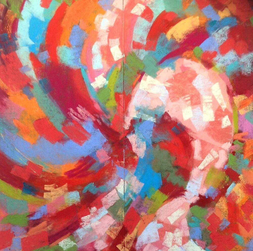 Cyclonic I by LenAustinPastel