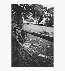 Black & White countryside Photographic Print