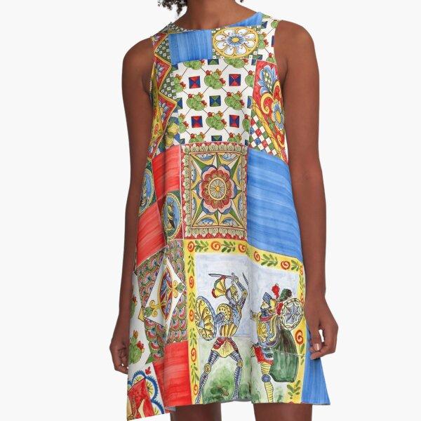 Sicilian Style VI A-Line Dress