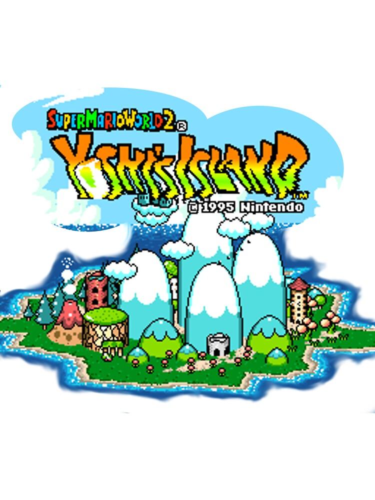 Yoshi's Island Title Screen by PHaZerous