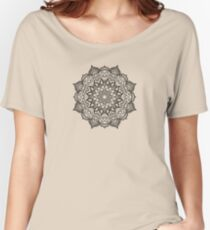 Dense Mandala Women's Relaxed Fit T-Shirt