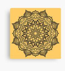 Dense Mandala Canvas Print