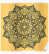 Dense Mandala Poster