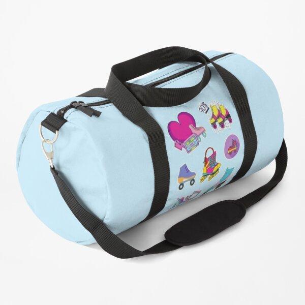 90s Roller Skate Vibes Duffle Bag