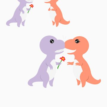 T-rex's Valentine by design2heart