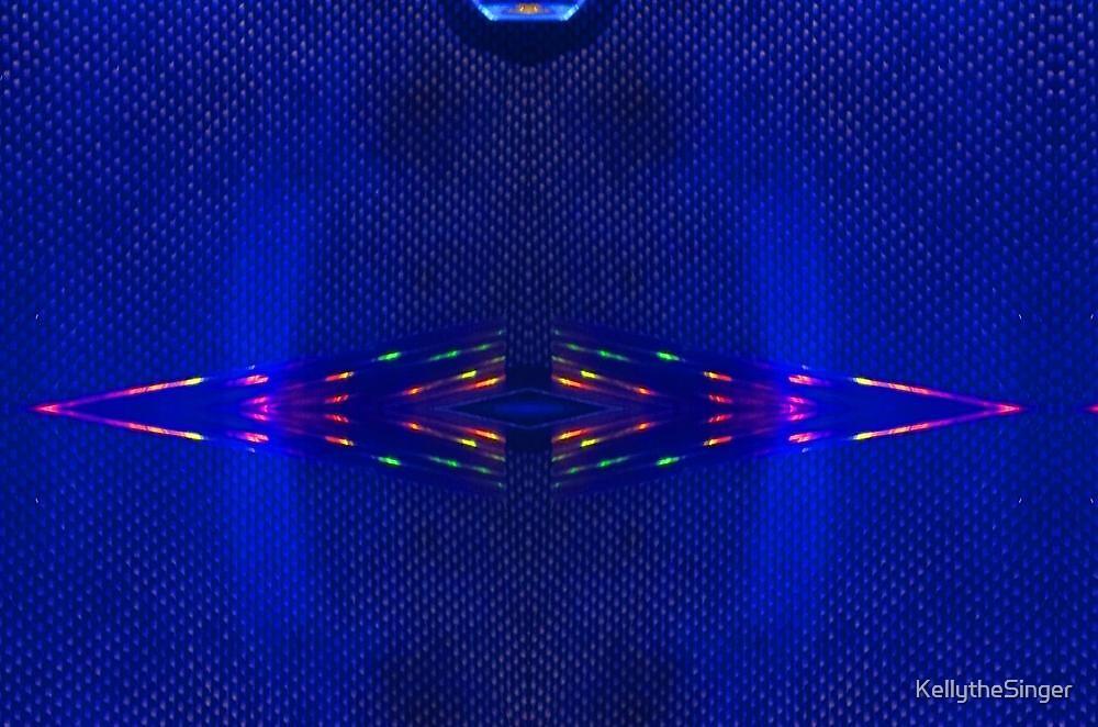 Blue Amp Refracting 11 by KellytheSinger