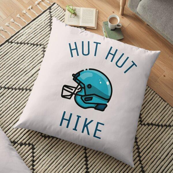 Hut hut hike Floor Pillow