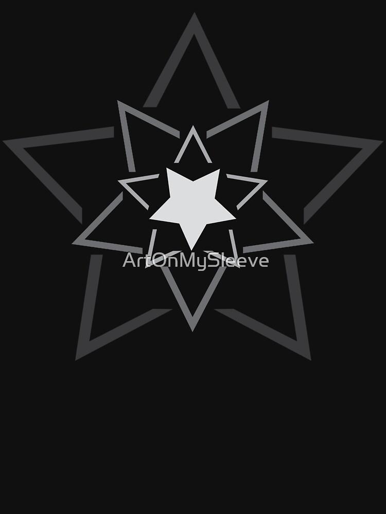 Exploding Star, Gradation by ArtOnMySleeve