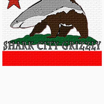 Shark City Grizzly by Louienidas