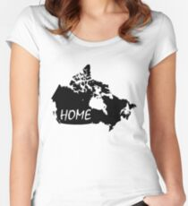 Canada Home Women's Fitted Scoop T-Shirt
