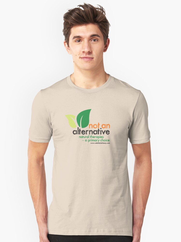 Natural Therapies - A Primary Choice Unisex T-Shirt Front