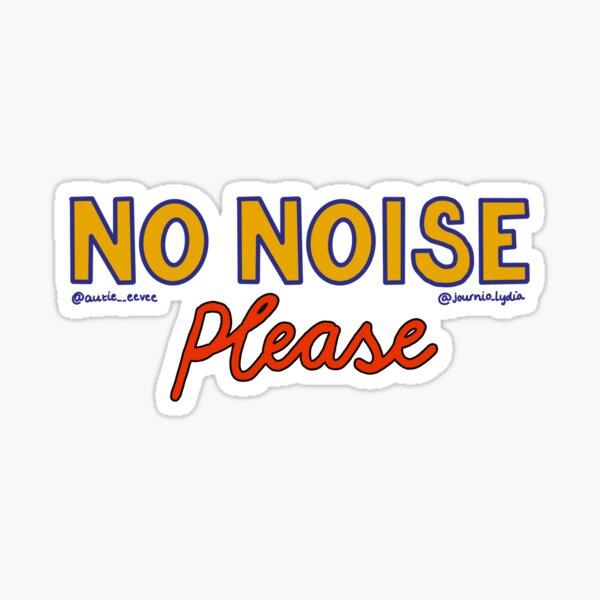 Autie eevee x Journo Lydia No Noise Please Sticker