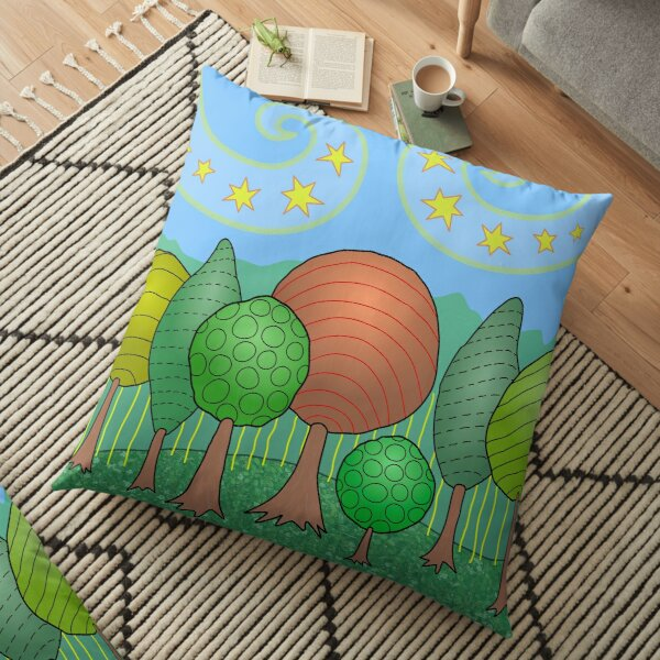 My Family Floor Pillow