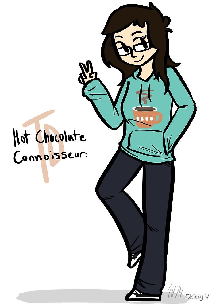 Tina Dayton - Hot Chocolate Connoisseur. by Skitty Vasquez