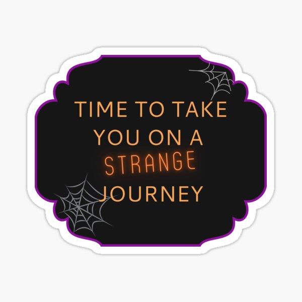 Strange Journey Sticker