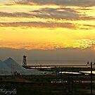 Sunrise over Salt by Kate0011