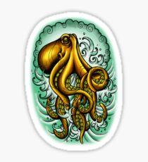 Traditional Octopus Sticker