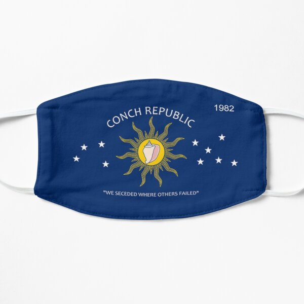 Conch Republic We Seceded Where Others Failed 1982 Flat Mask