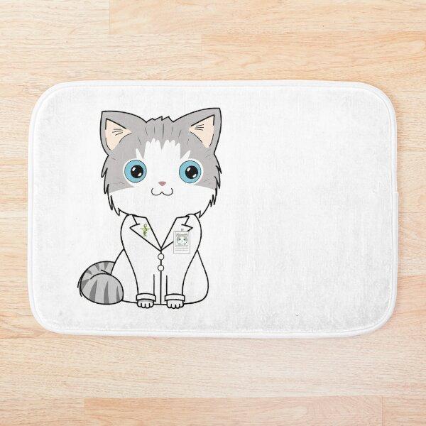 Doctor Cat - Damon Sloan Bath Mat