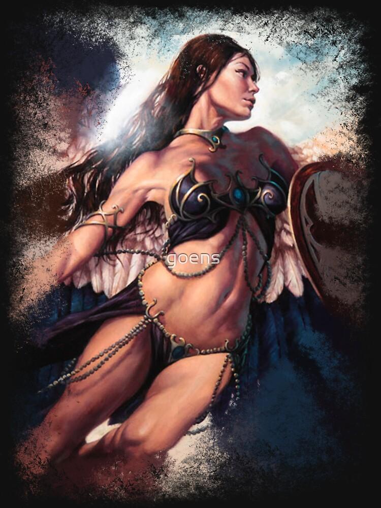 Athenas Dream by goens