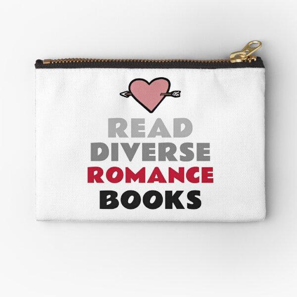 Read Diverse Romance Books Zipper Pouch
