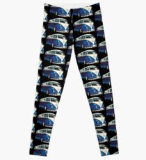 VW Bus Cool Blue Leggings