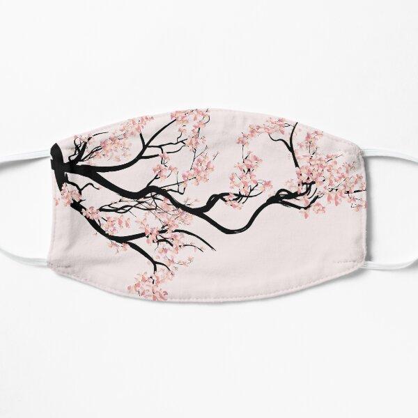 Sakura cherry blossom tree Flat Mask