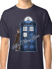 Doctor Who - All of Time and Space T-shirt Classic T-Shirt