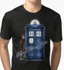Doctor Who - All of Time and Space T-shirt Tri-blend T-Shirt