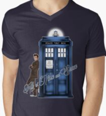 Doctor Who - All of Time and Space T-shirt Mens V-Neck T-Shirt