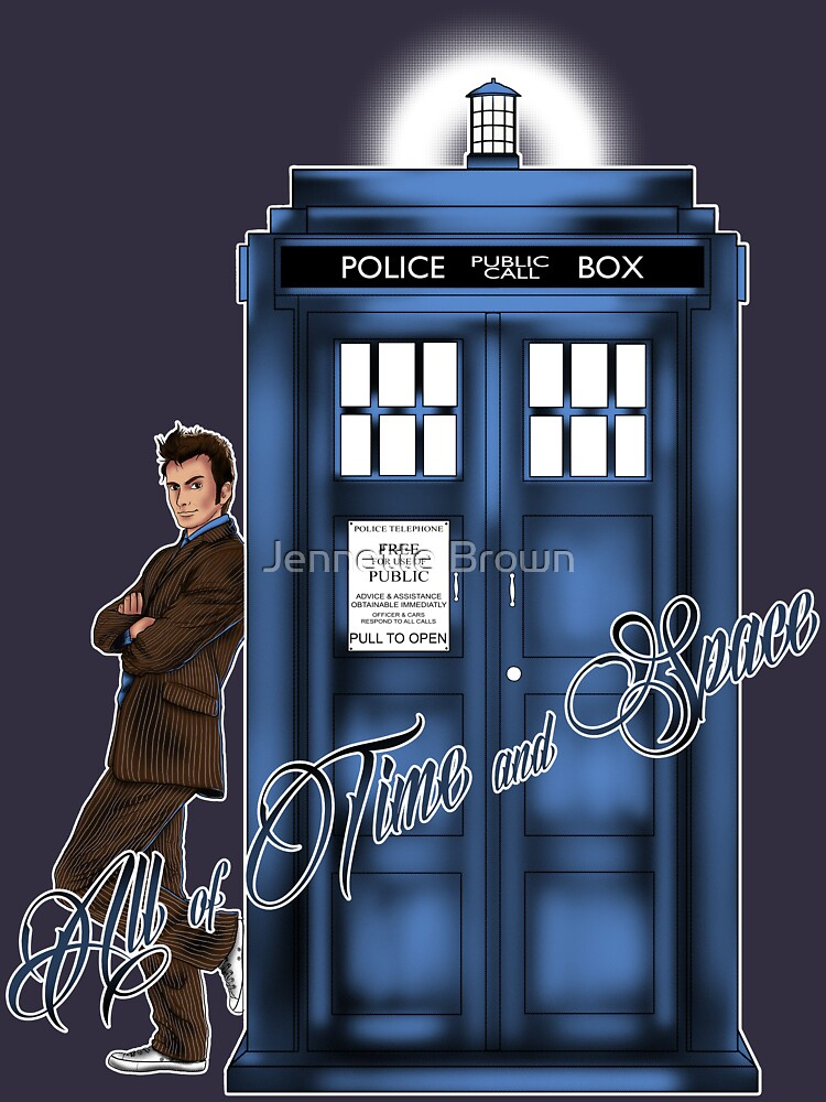 Doctor Who - All of Time and Space T-shirt | Unisex T-Shirt