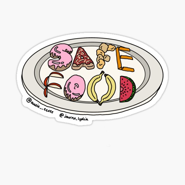 Autie eevee x Journo Lydia Safe Food Sticker