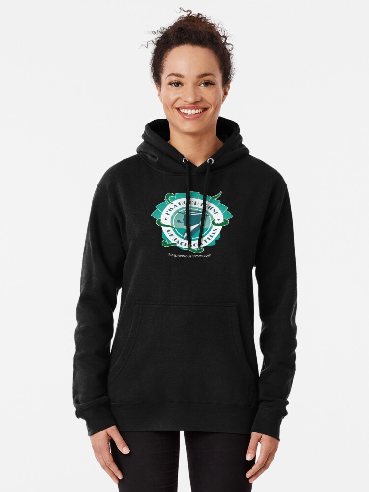 Alternate view of Good Friends of Jackson Elias (2) Pullover Hoodie