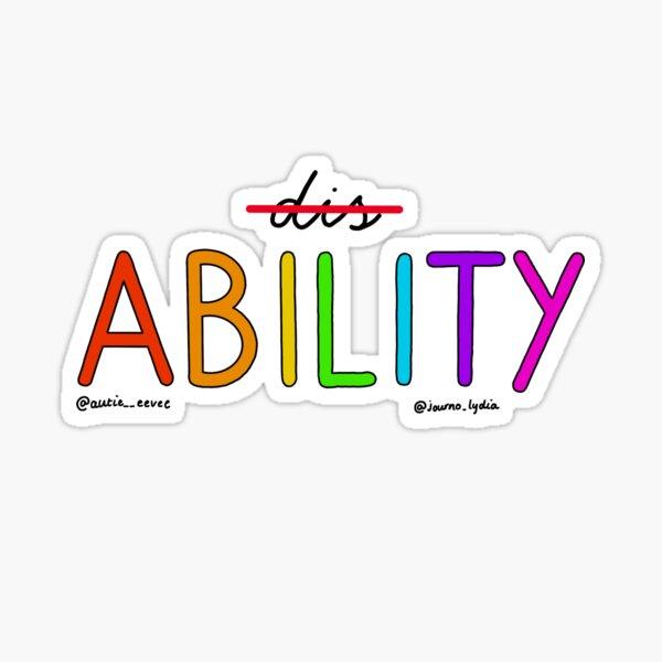 Autie Eevee x Journo Lydia Ability Sticker
