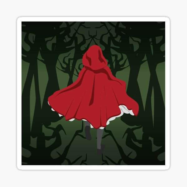 Little Red Ridinghood Sticker