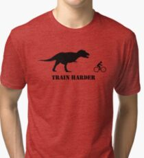 T-Rex Bike Training Tri-blend T-Shirt