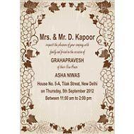 Griha Pravesh Invitation Cards by sudomark3