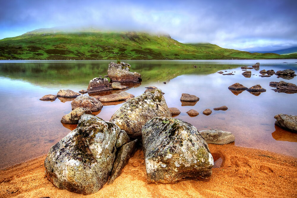 Lochan nah Achlaise by Stephen Smith