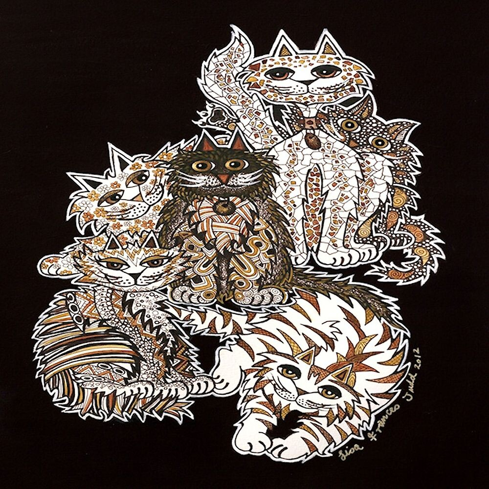 Sepia Cats  by Lisafrancesjudd