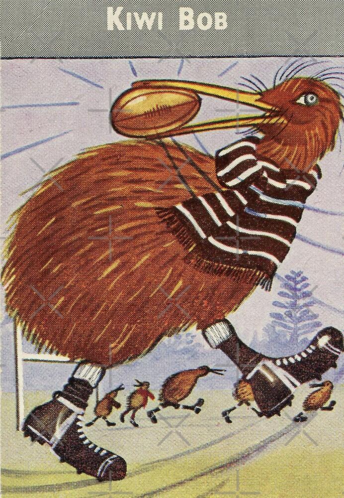 Alison Fyfe Kiwi Bob Card by Darian  Zam