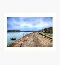 Lyme Regis Cob Art Print