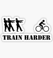 Zombie Bike Training Sticker