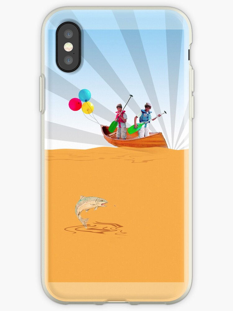 Phone case: Canoe with Pooh by Steven House