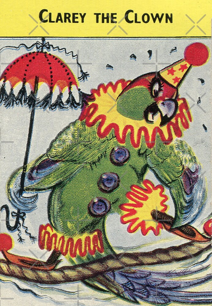 Alison Fyfe Clarey Clown Card by Darian  Zam