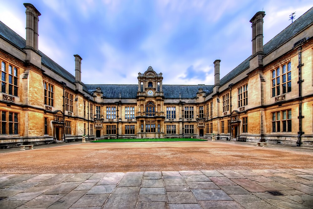 Christ Church College by Stephen Smith