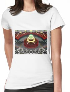 Seven Layer Dream Cake Womens Fitted T-Shirt