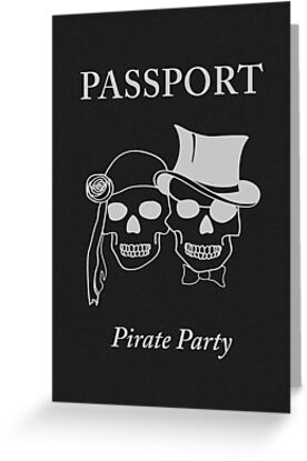 pirate party passport by maydaze