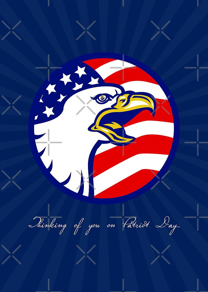Thinking of You on Patriot Day Card by patrimonio