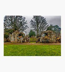 Jervaulx Abbey Ruins Photographic Print